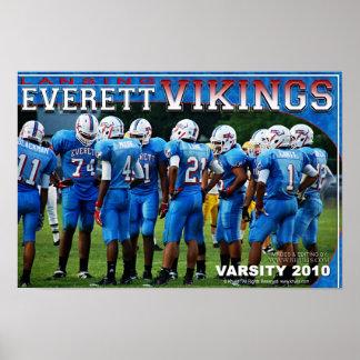 Everett Vikings affisch Poster