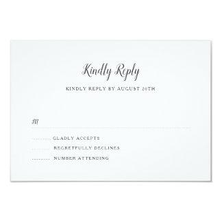 Everly bröllop OSA 8,9 X 12,7 Cm Inbjudningskort