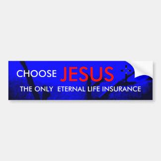Evig livförsäkringkristenbildekal bildekal