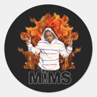 Evig MIMAREklistermärke - flamma