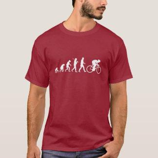 evolution av att cykla t shirt