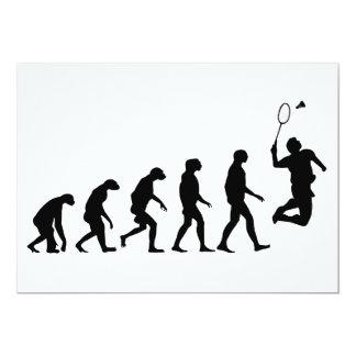 Evolution av Badminton 12,7 X 17,8 Cm Inbjudningskort