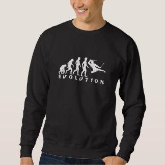 Evolution av den Ninja (mörk) T-tröja Långärmad Tröja