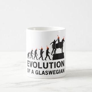 Evolution av en Glaswegian Tshirt (Glasgow) Kaffemugg