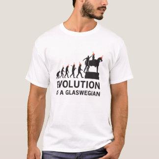 Evolution av en Glaswegian Tshirt (Glasgow) T-shirt