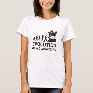 Evolution av en Glaswegian Tshirt (Glasgow) Tee Shirt