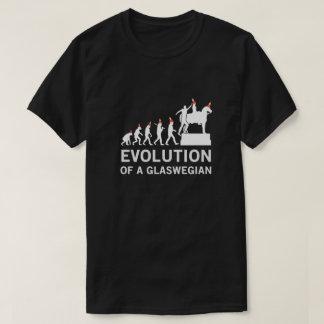 Evolution av en Glaswegian Tshirt (Glasgow) Tee Shirts
