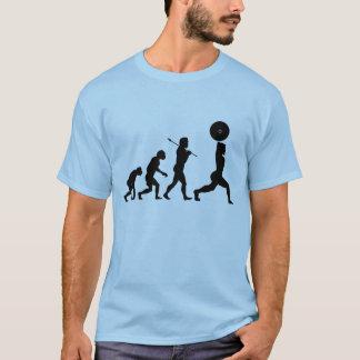 Evolution av manen t shirts