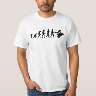 Evolution av motoT-tröja T-shirt