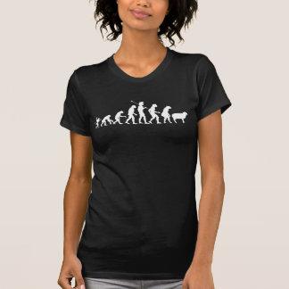 Evolution av samlas skjortan t shirts