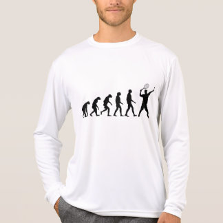 Evolution av tennis t-shirts