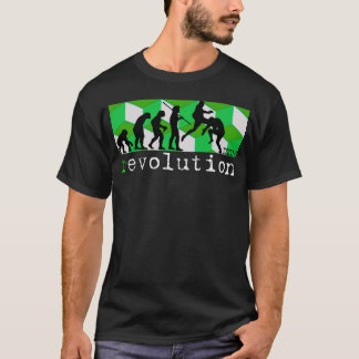 evolution för Muttahida Majlis-E-Amal (r) Tee Shirt