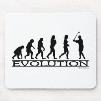 Evolution - kvinnlig golf musmatta