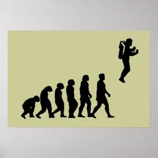 EvolutionJetpack affisch Poster