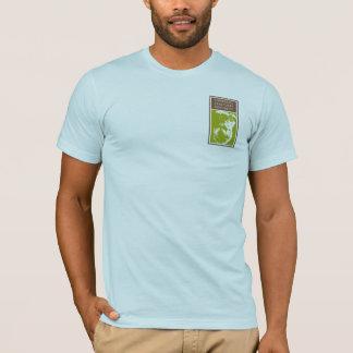 Evolutionregler! 98,76% Schimpans på amerikandräkt Tshirts