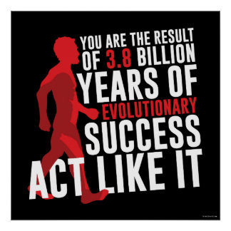 Evolutions- framgång poster
