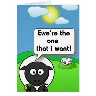 Ewe're den hälsningskort