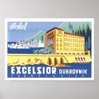 Excelsior Dubrovnik reser affischen Poster