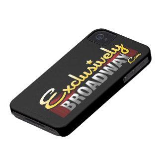 ExclusivelyBroadway.com iPhone 4 Hud