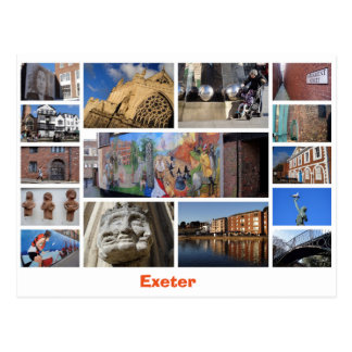 Exeter vykort