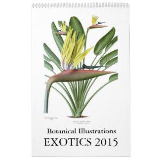 Exotics 2015 kalender