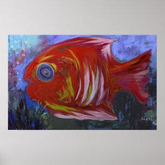 Exotisk fisk II Affisch