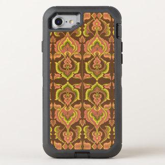 Exotisk gult för grönt för brunt för OtterBox defender iPhone 7 skal