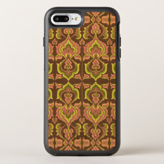 Exotisk gult för grönt för brunt för OtterBox symmetry iPhone 7 plus skal
