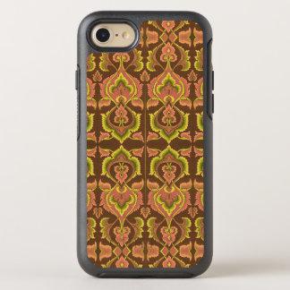 Exotisk gult för grönt för brunt för OtterBox symmetry iPhone 7 skal