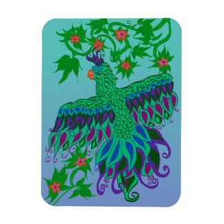 Exotisk papegojamagnet magnet