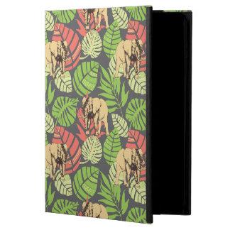 Exotiska djungellöv och elefanter iPad air skydd