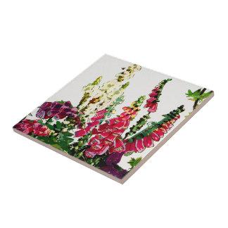 Exotiska floror #1 på SunshineDazzle Kakelplatta