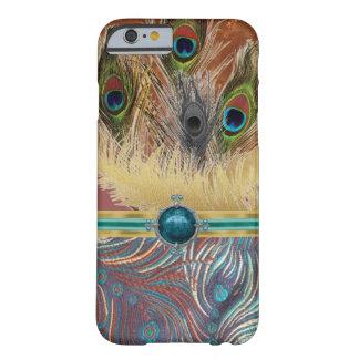 Exotiskt påfågelmönsterIPhone 6 fodral Barely There iPhone 6 Fodral