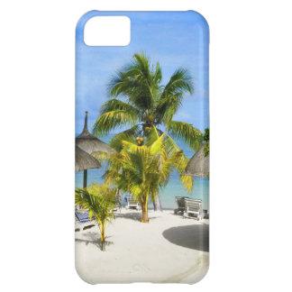 Exotiskt tropiskt fodral för strandiPhone 5 iPhone 5C Fodral