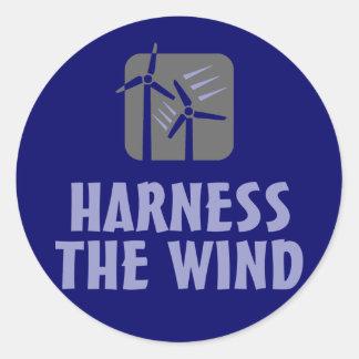 Exploatera vinden (3) runt klistermärke