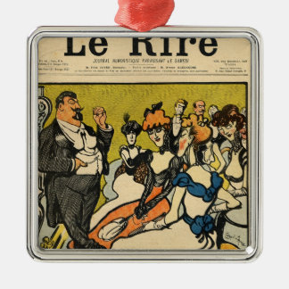 Explorersfromen som bekläda täcker av Le Rire Julgransprydnad Metall