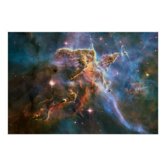 Explosion för stjärna för Supernova för galaxNebul Poster