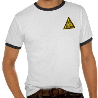Explosiv varningsT-tröja