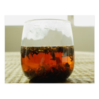 Exponeringsglas av kinesisk Tea Vykort