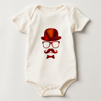 Exponeringsglas för moustache för Hipster1b derby Sparkdräkt