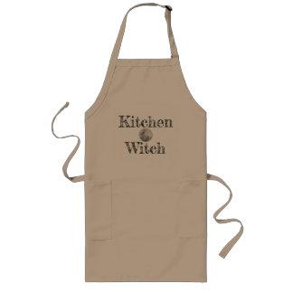 Extra långt förkläde för kökhäxa