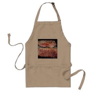 Extra- stöd för gris på grilla förkläde