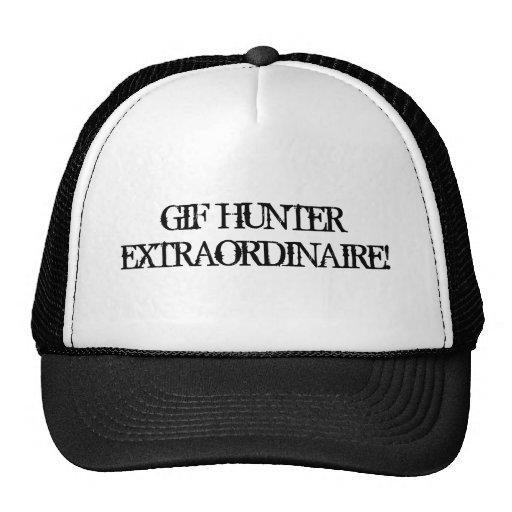 Extraordinaire hatt för GIF-jägare Trucker Keps