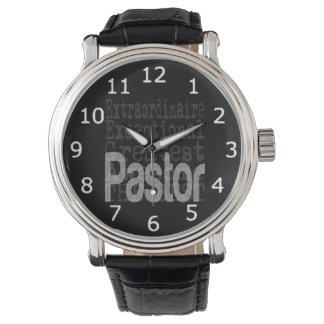 Extraordinaire pastor armbandsur