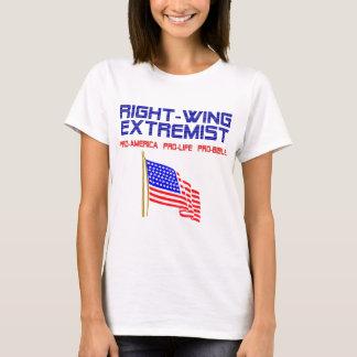 Extremistisk flaggaT-tröja för right wing T-shirts