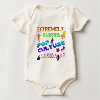 Extremt klyftig popkultur Mashup Bodies För Bebisar