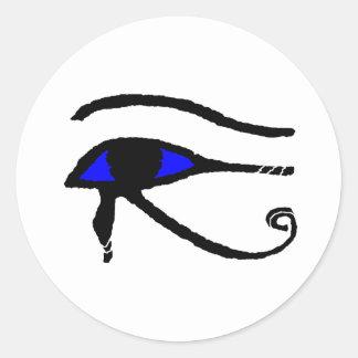Eye_of_Horus Runt Klistermärke