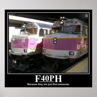 F40PH-affisch Poster