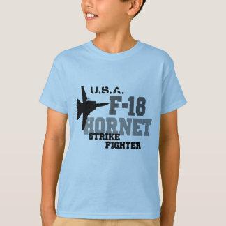 F-18 bålgeting - strejkakämpe t-shirt