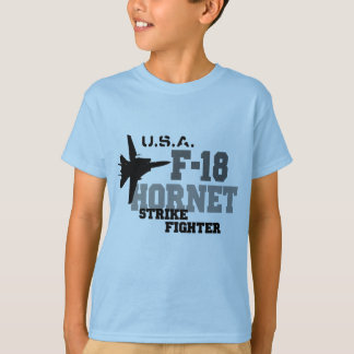 F-18 bålgeting - strejkakämpe tröjor